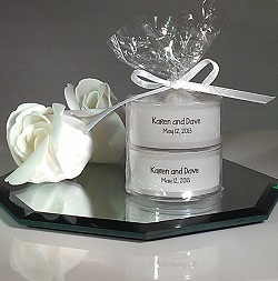 Wedding Tealight 2 pack reflection cropped 250
